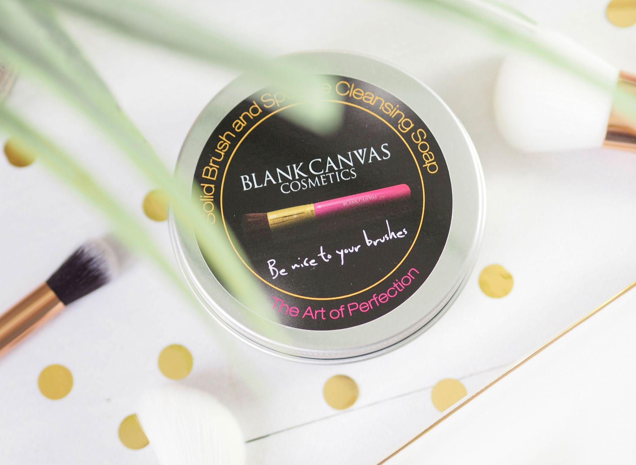Blank Canvas Solid Brush & Sponge Soap