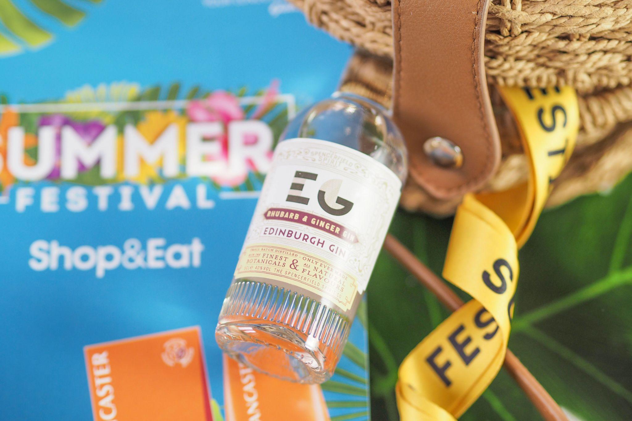 Edinburgh Gin Rhubarb & Ginger from Gatwick Summer Festival