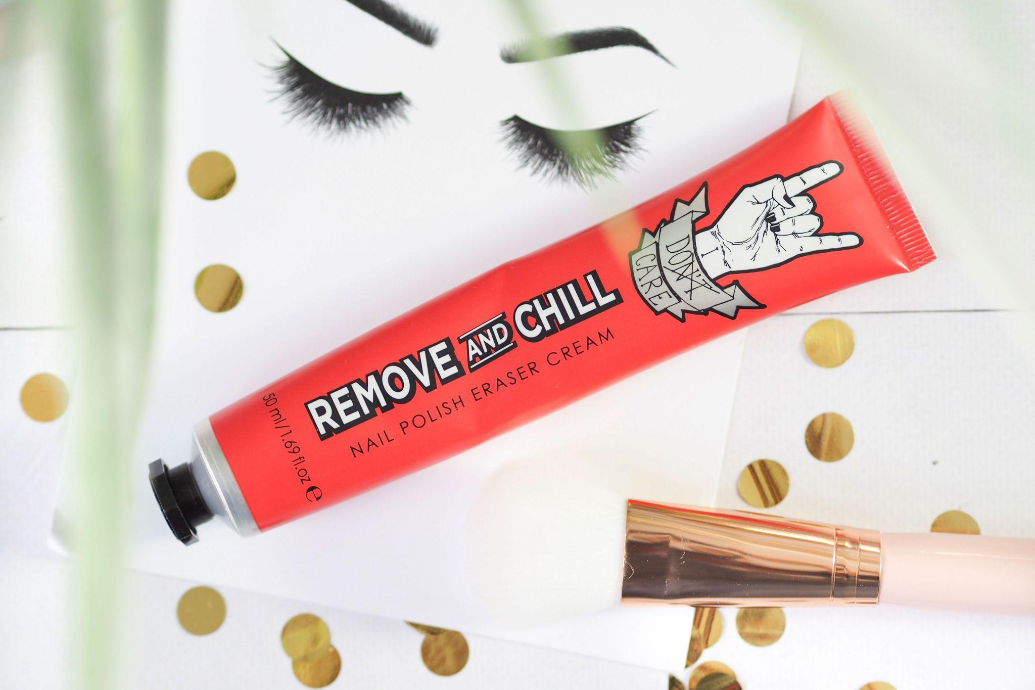 Remove & Chill Nail Polish Eraser Cream