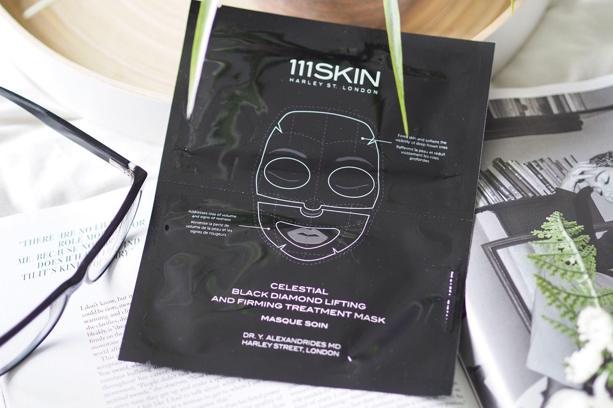111Skin Celestial Black Diamond Lifting & Firming Mask Review