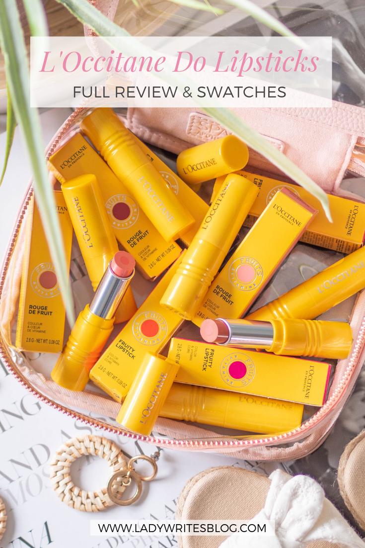 Loccitane lipstick review