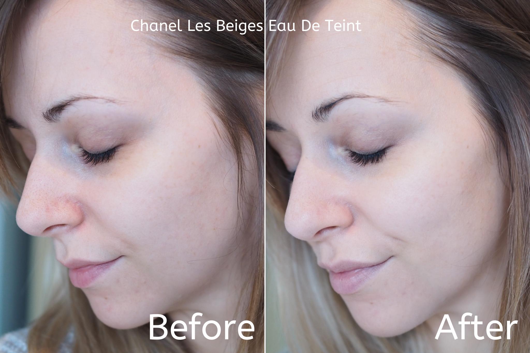 Chanel Les Beiges Eau De Teint Swatches