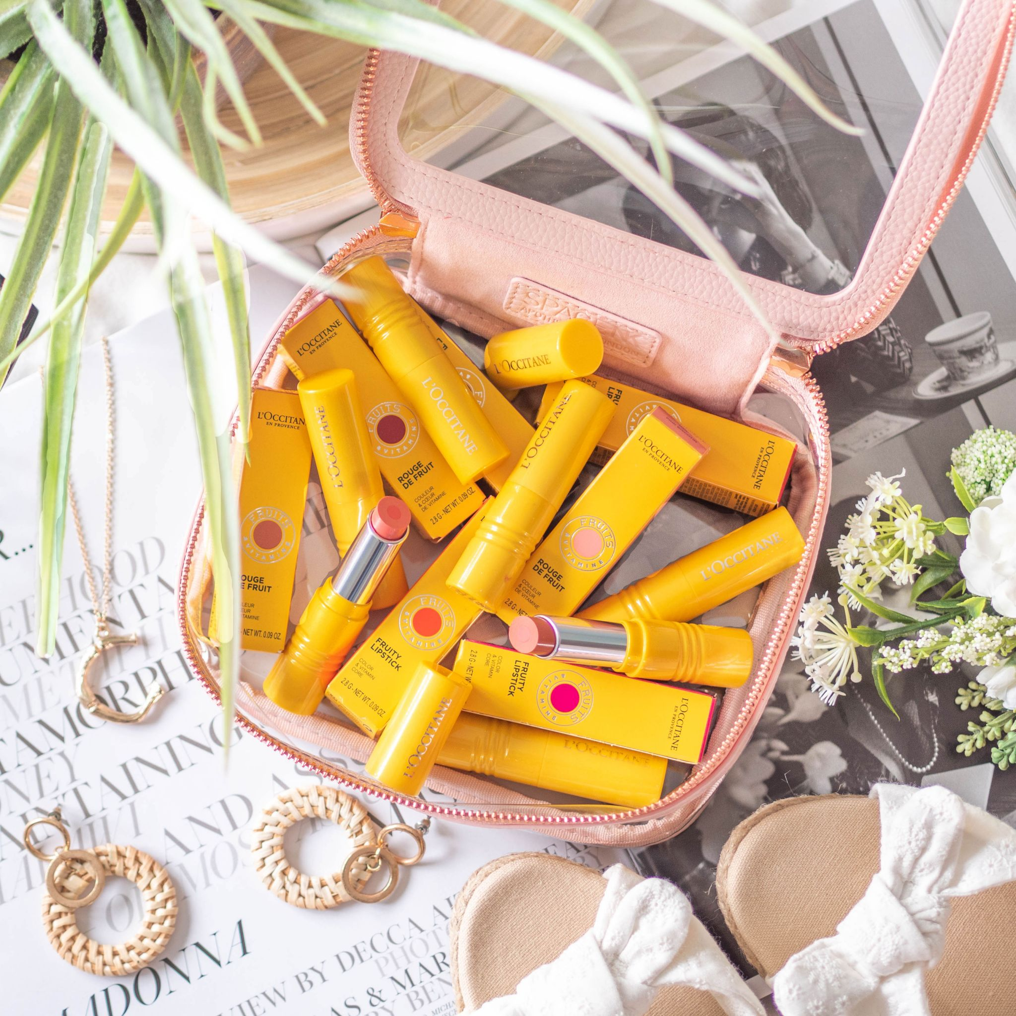 L'Occitane Fruity Lipstick Full Review and Swatches
