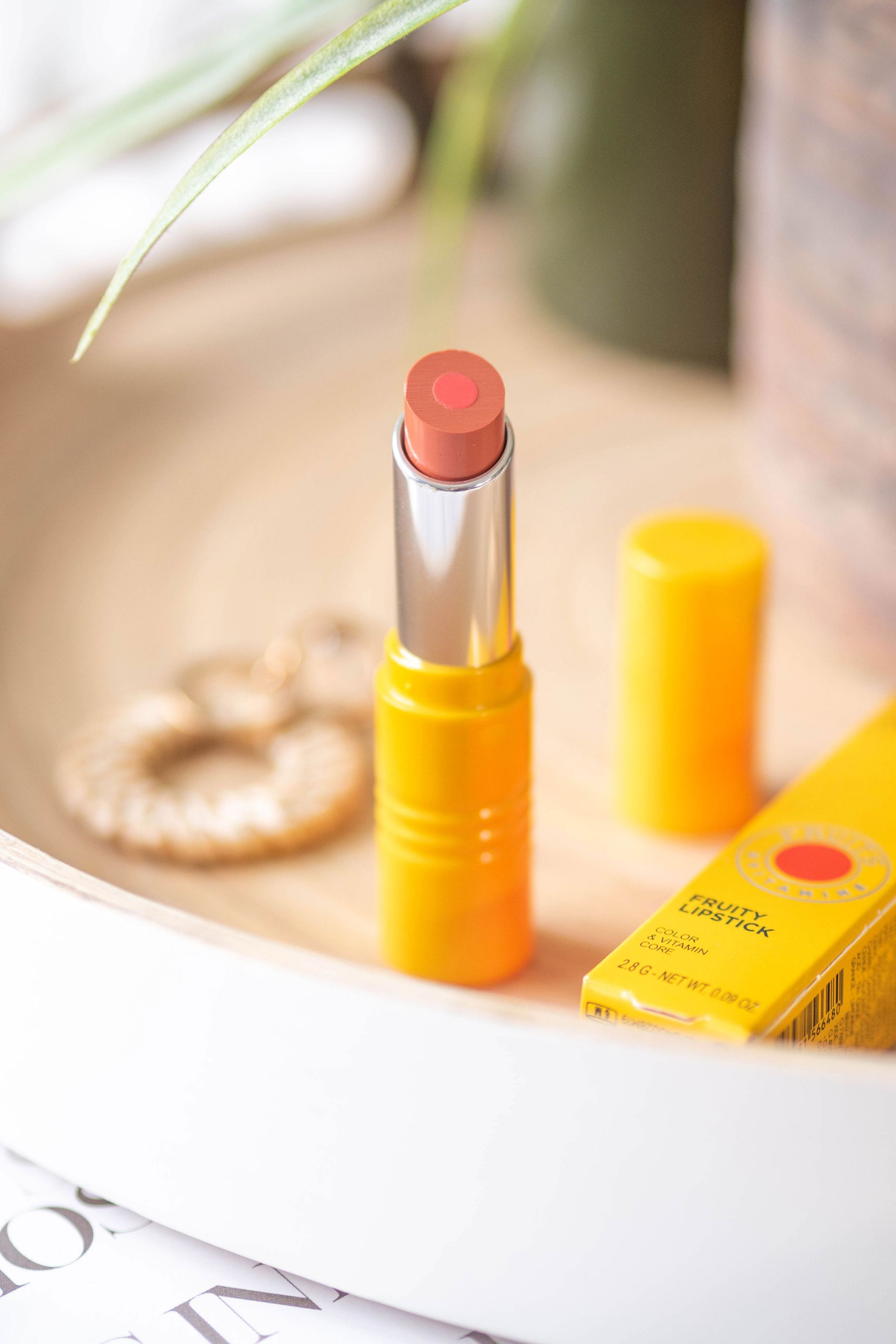 L'Occitane Fruity lipstick review and swatches