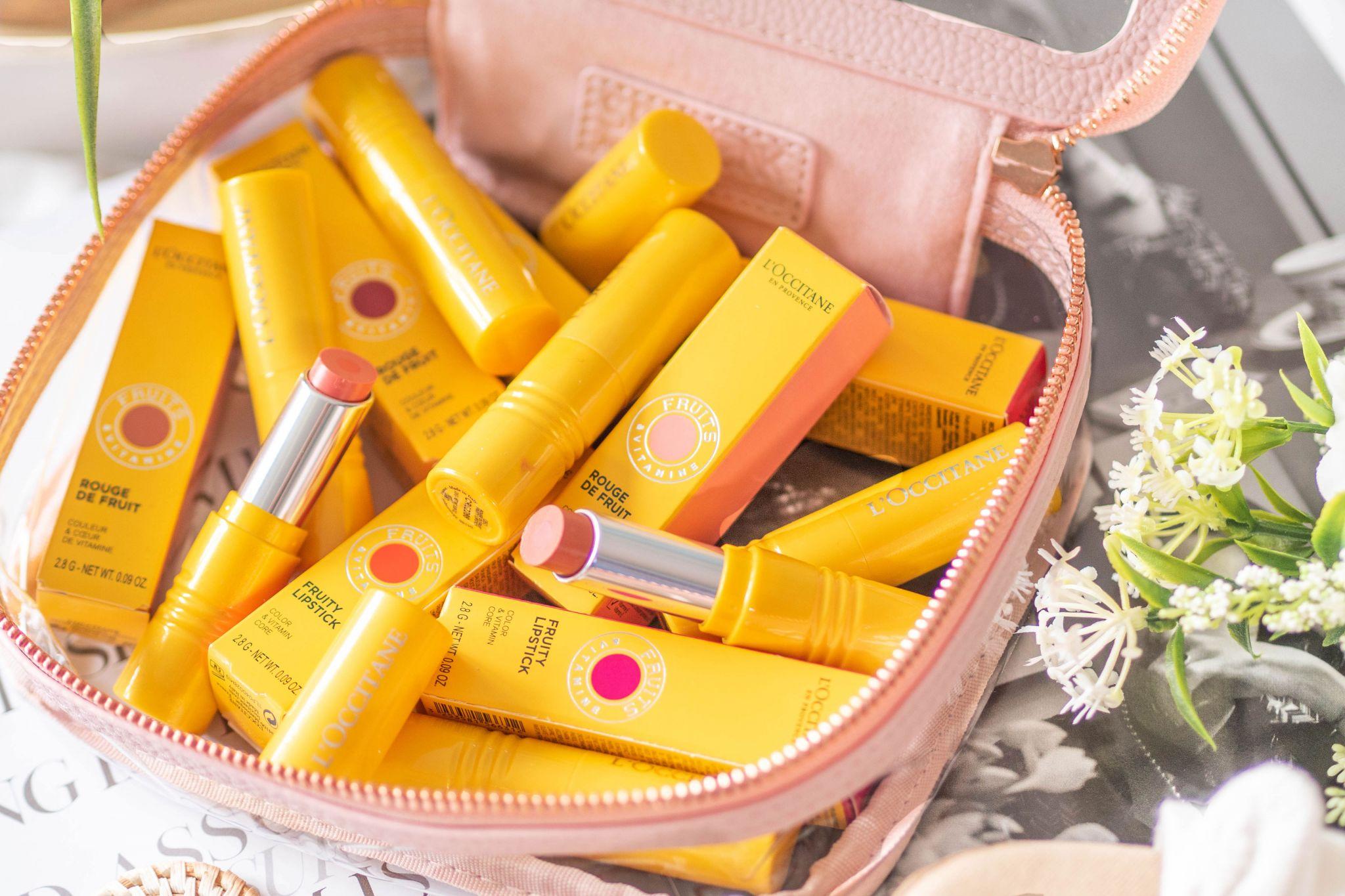L'Occitane Fruity lipstick review