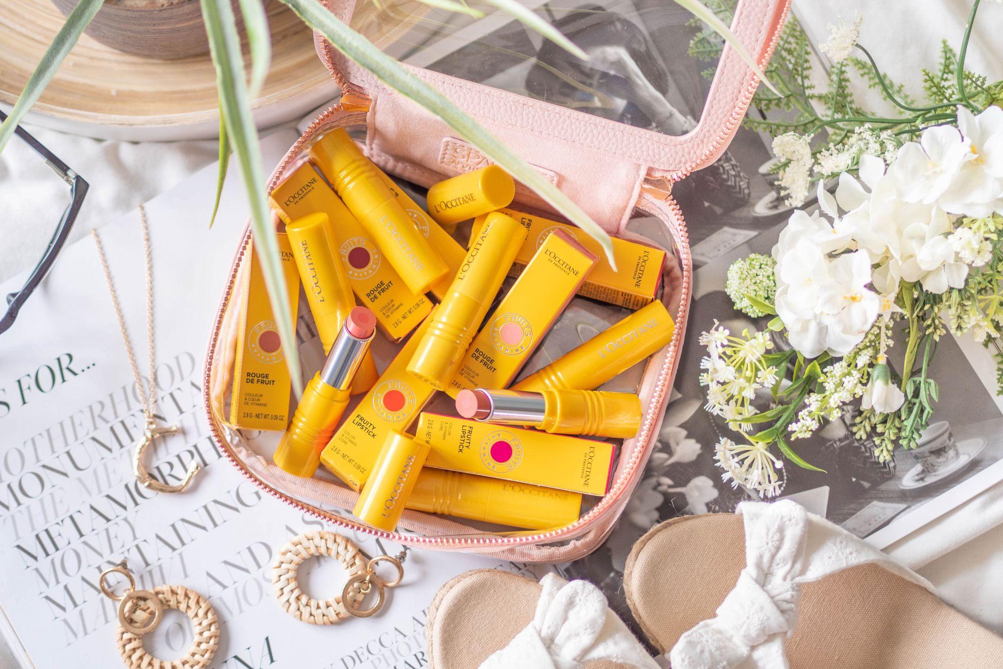 L'Occitane lipstick review