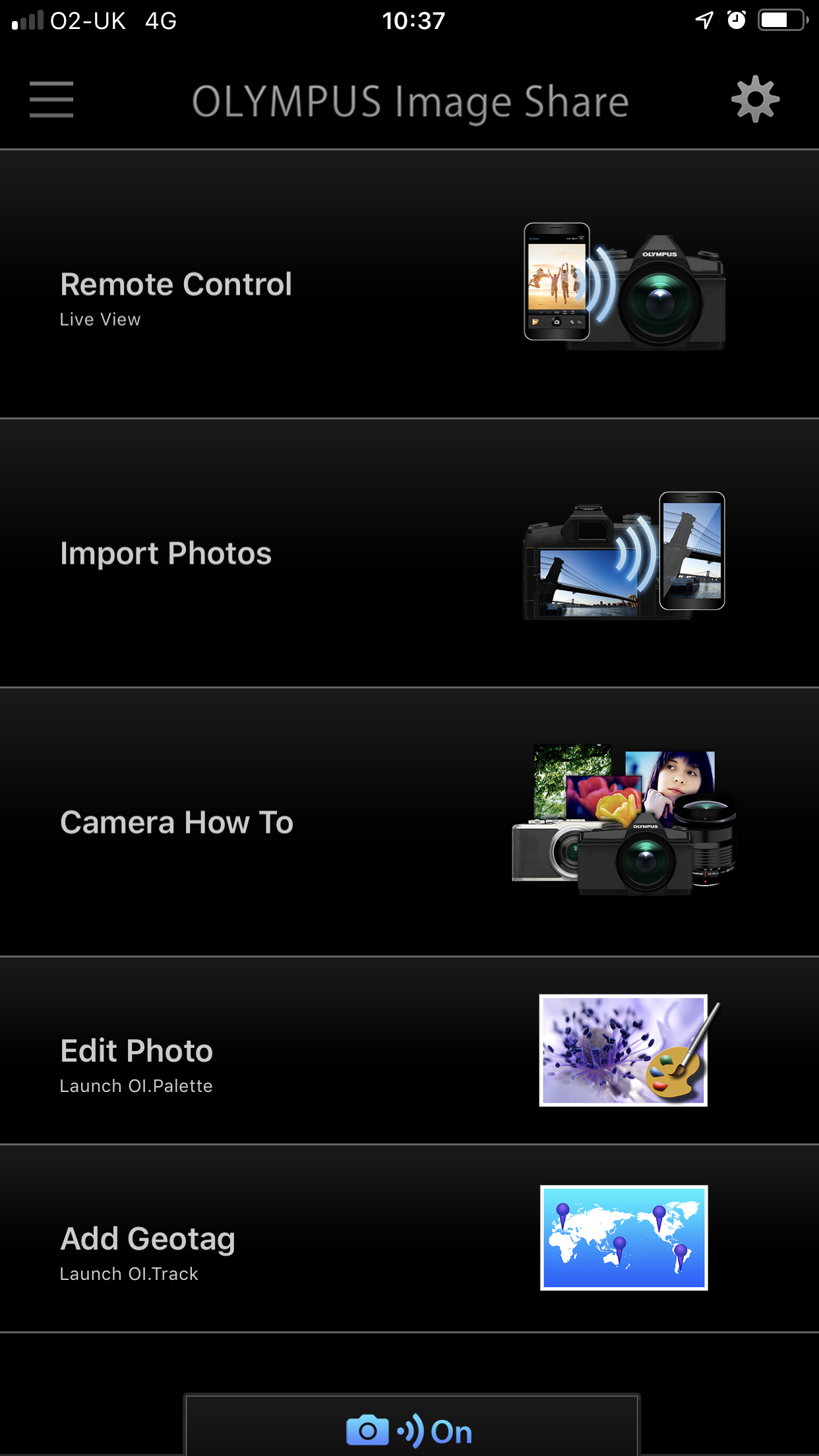 Olympus E-PL9 OI Share App Review