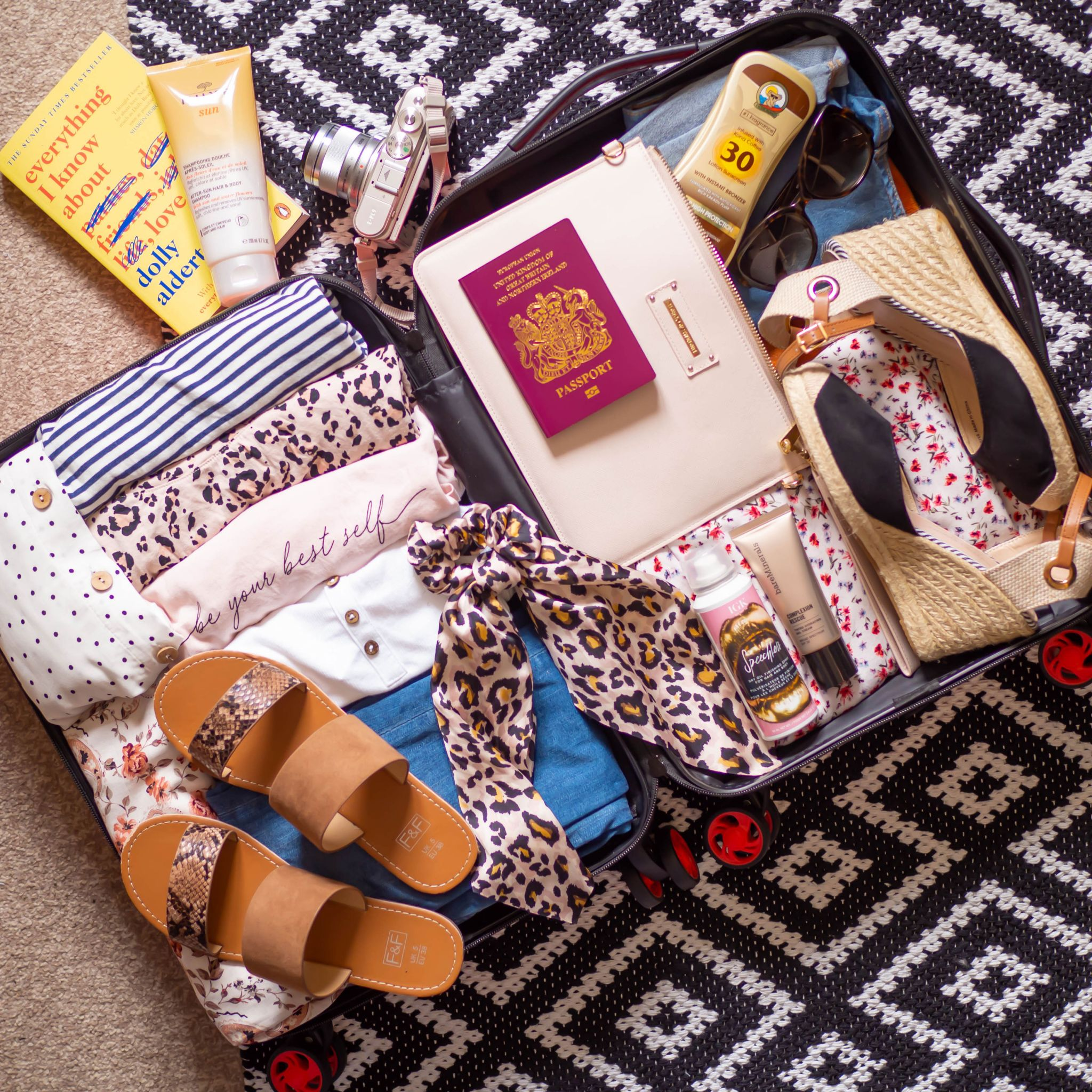 The Busy Girl's Guide To Packing