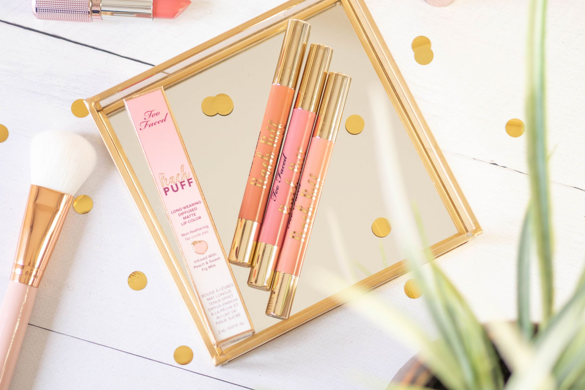 Too Faced -'Peach Puff' Lip Colour Review