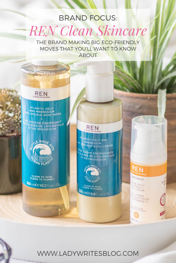 REN Clean Skincare and sustainability