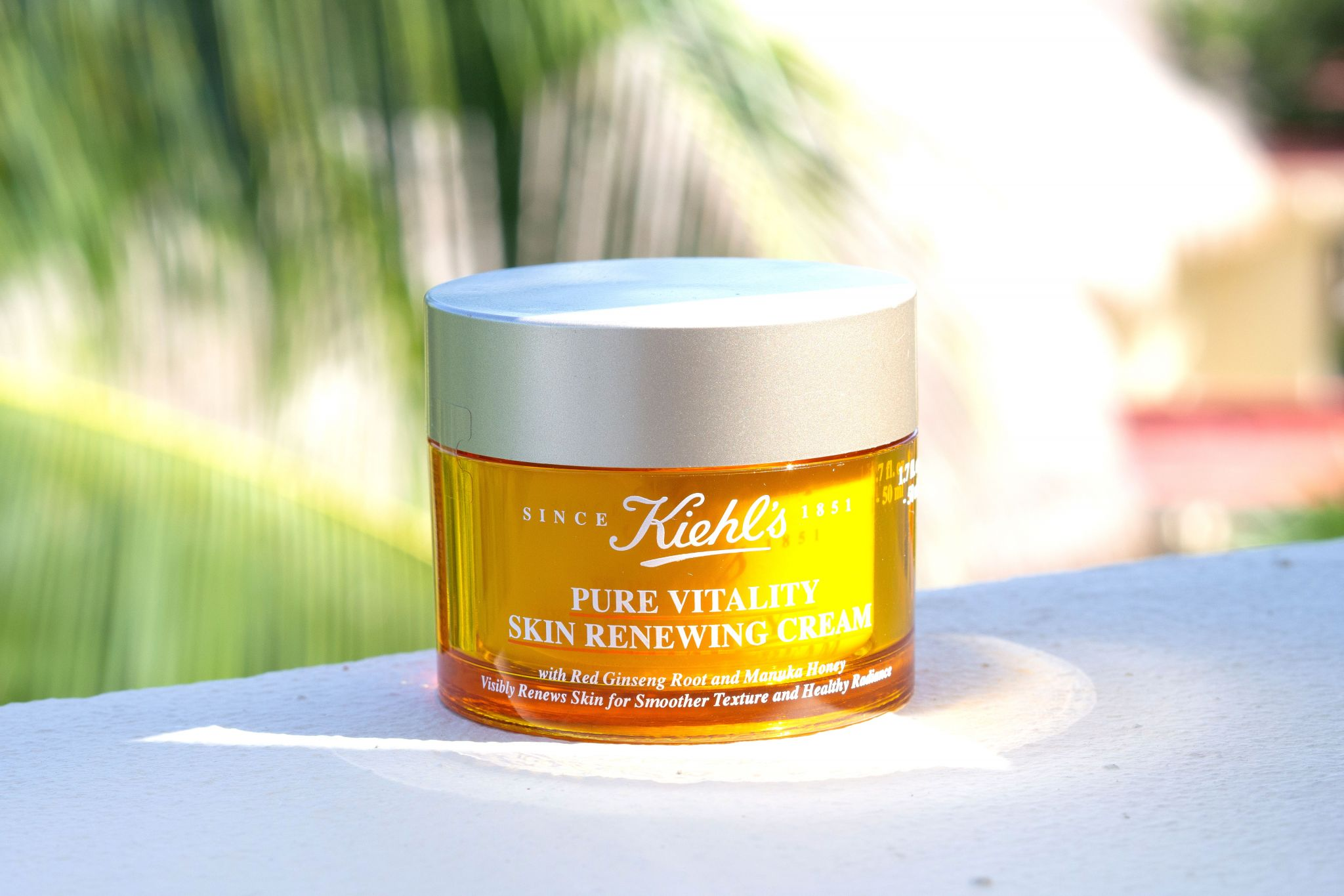 Kiehl's Review Pure Vitality Skin Renewing Cream