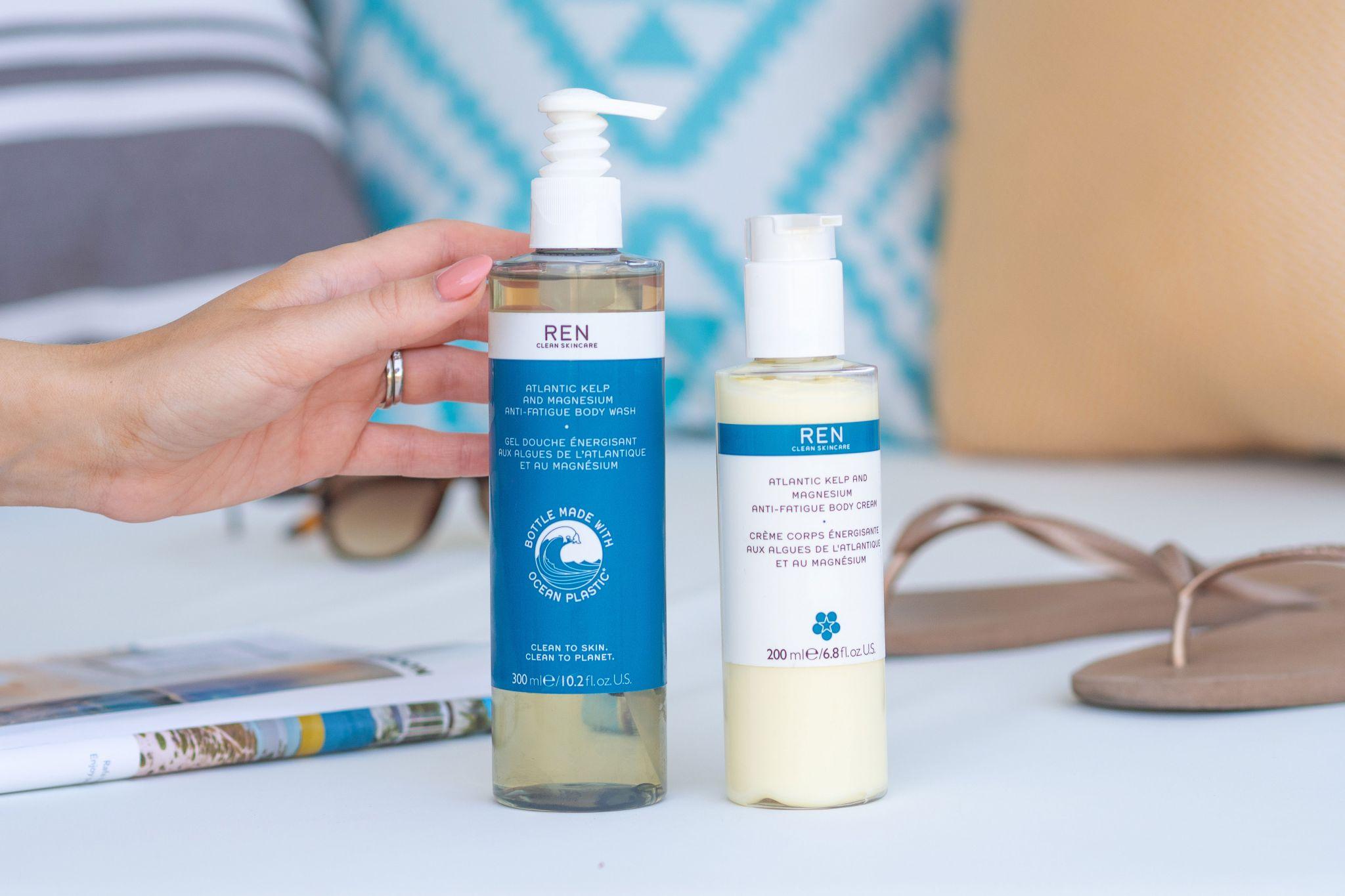REN Clean Skincare Atlantic Anti-Fatigue Body Wash Review