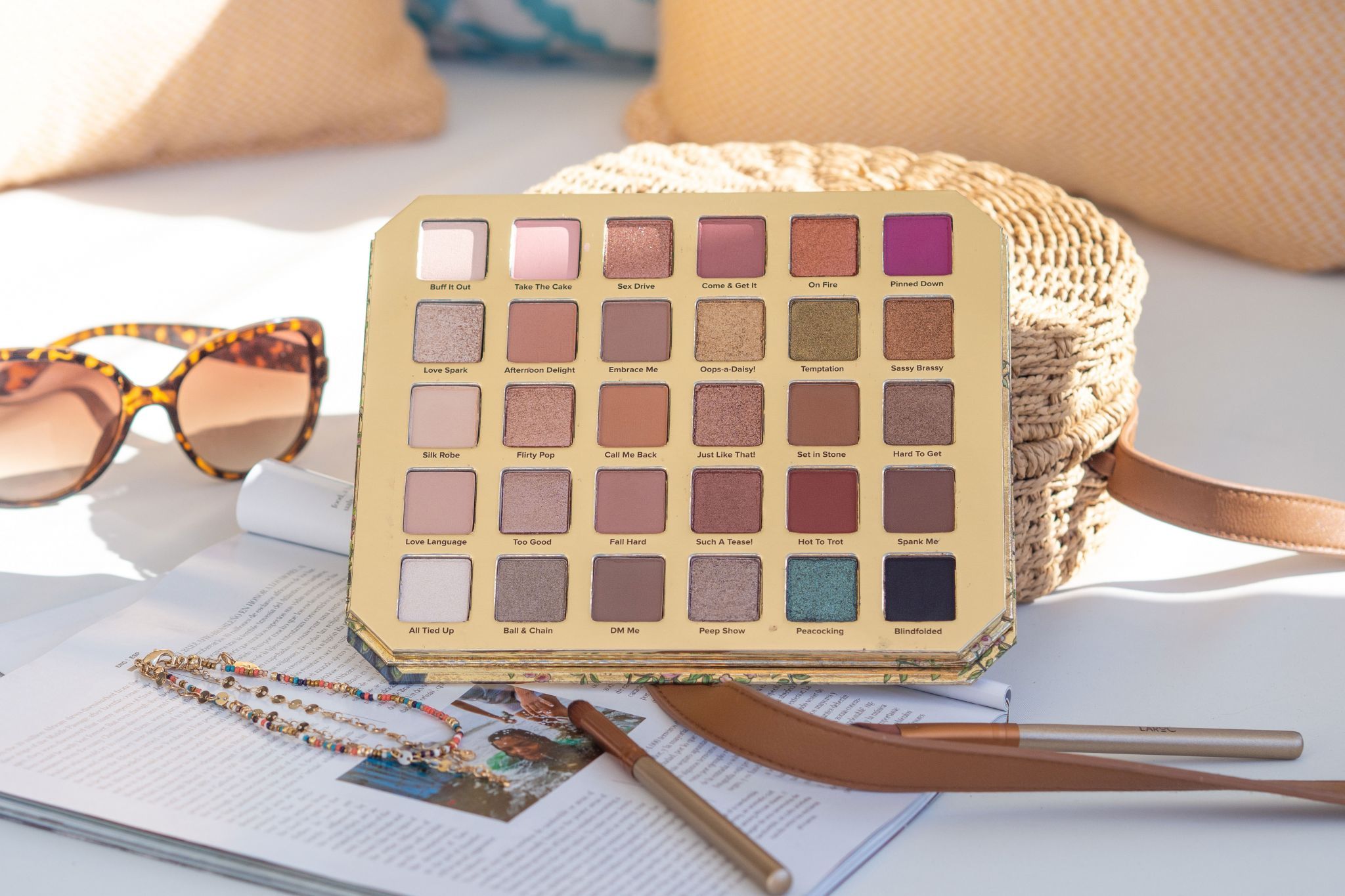 Too Faced Natural Lust Eyeshadow Palette Review