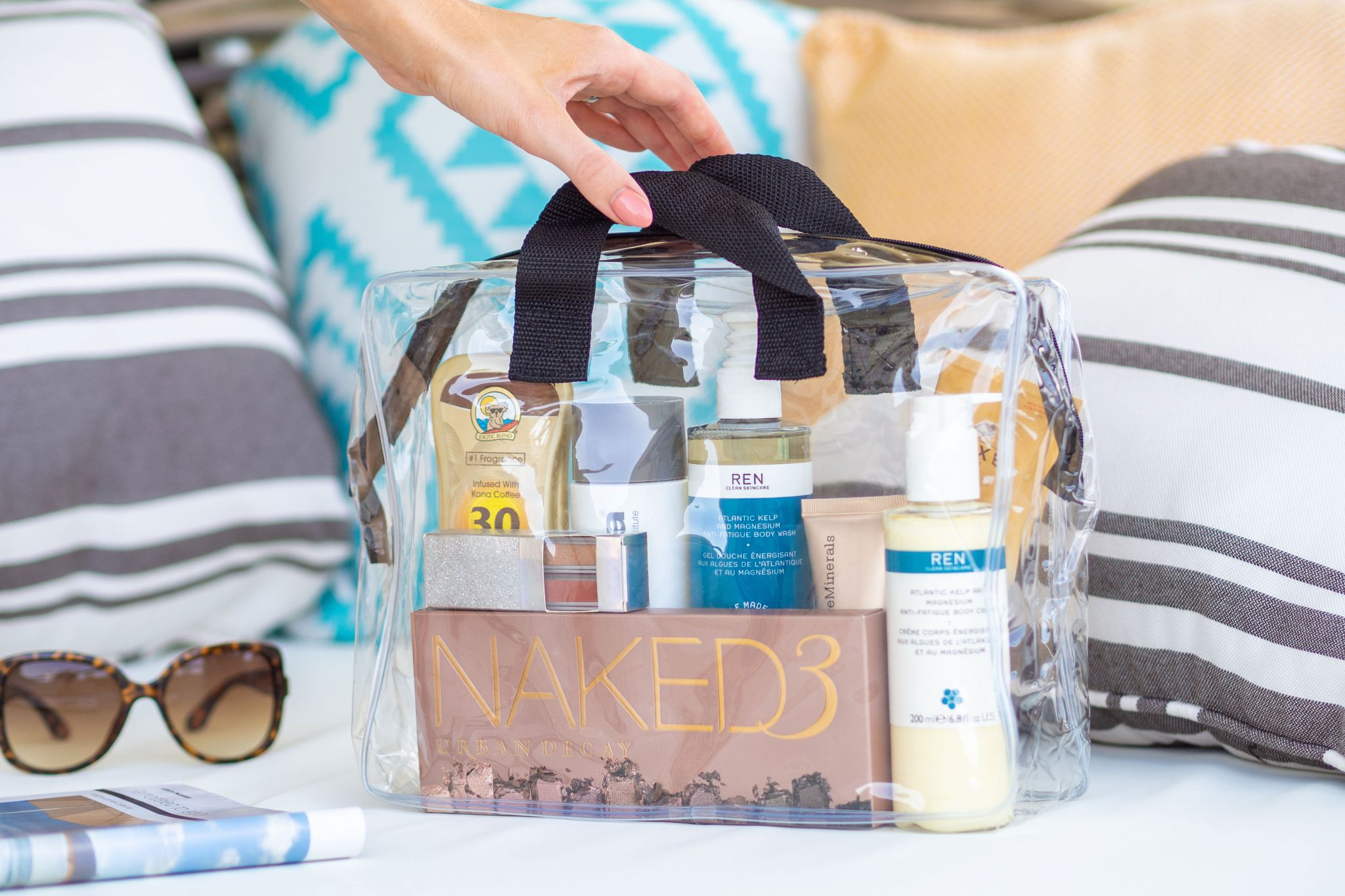 What I Packed In My Travel Beauty Bag For My Honeymoon