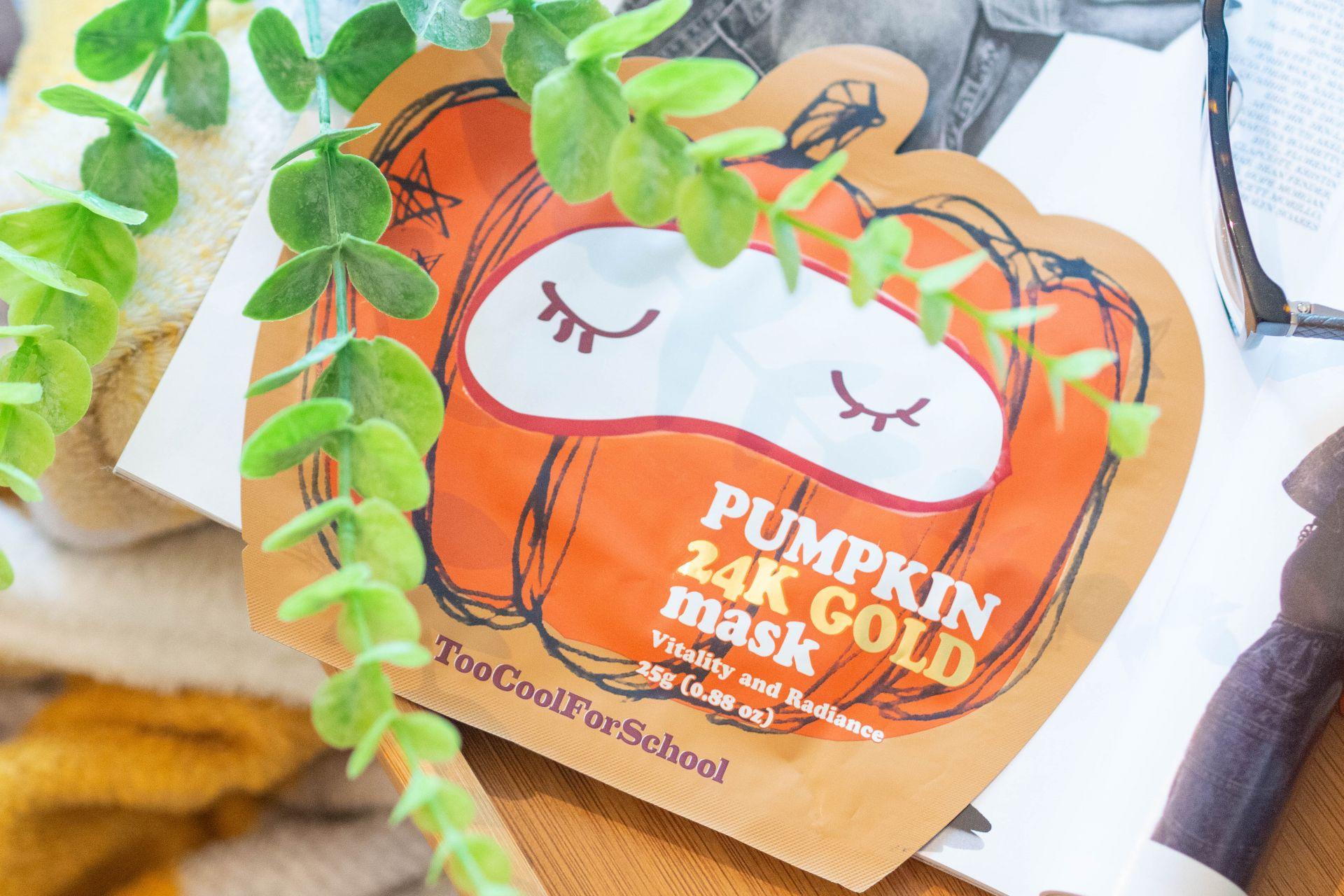 Pumpkin 24K Gold Mask