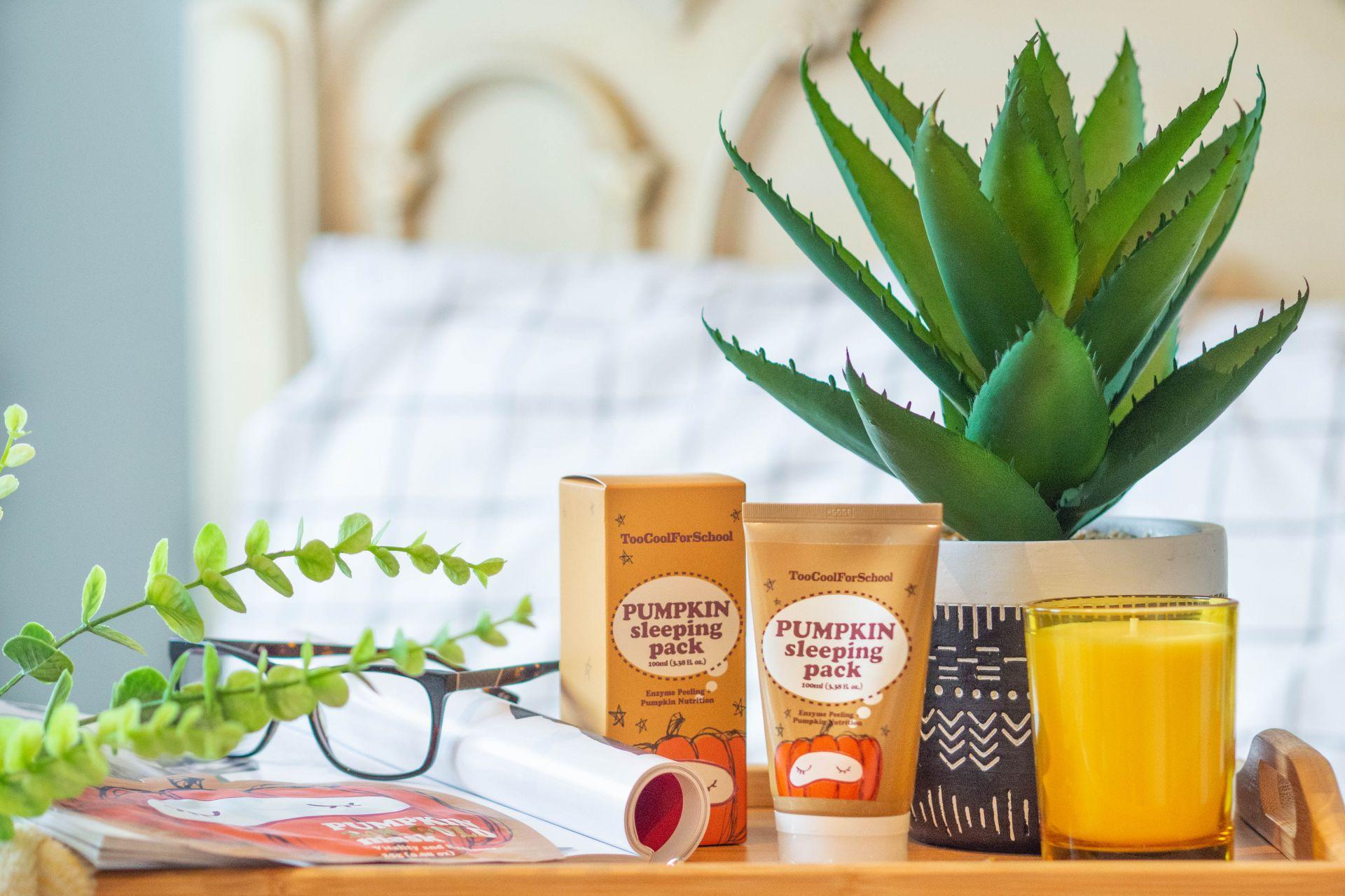 Pumpkin skincare review