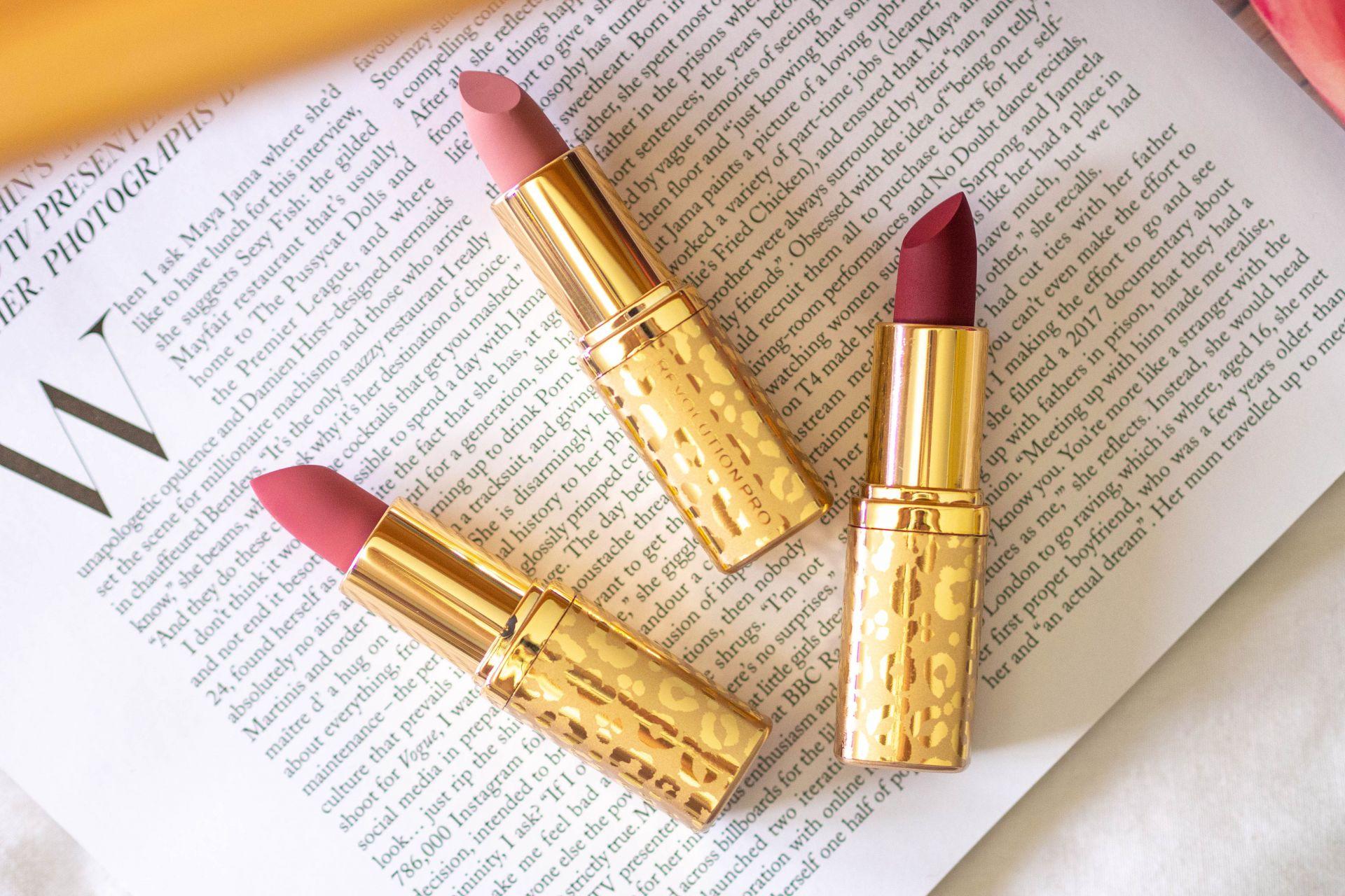 Revolution Pro New Neutral Satin Matte Lipstick Review