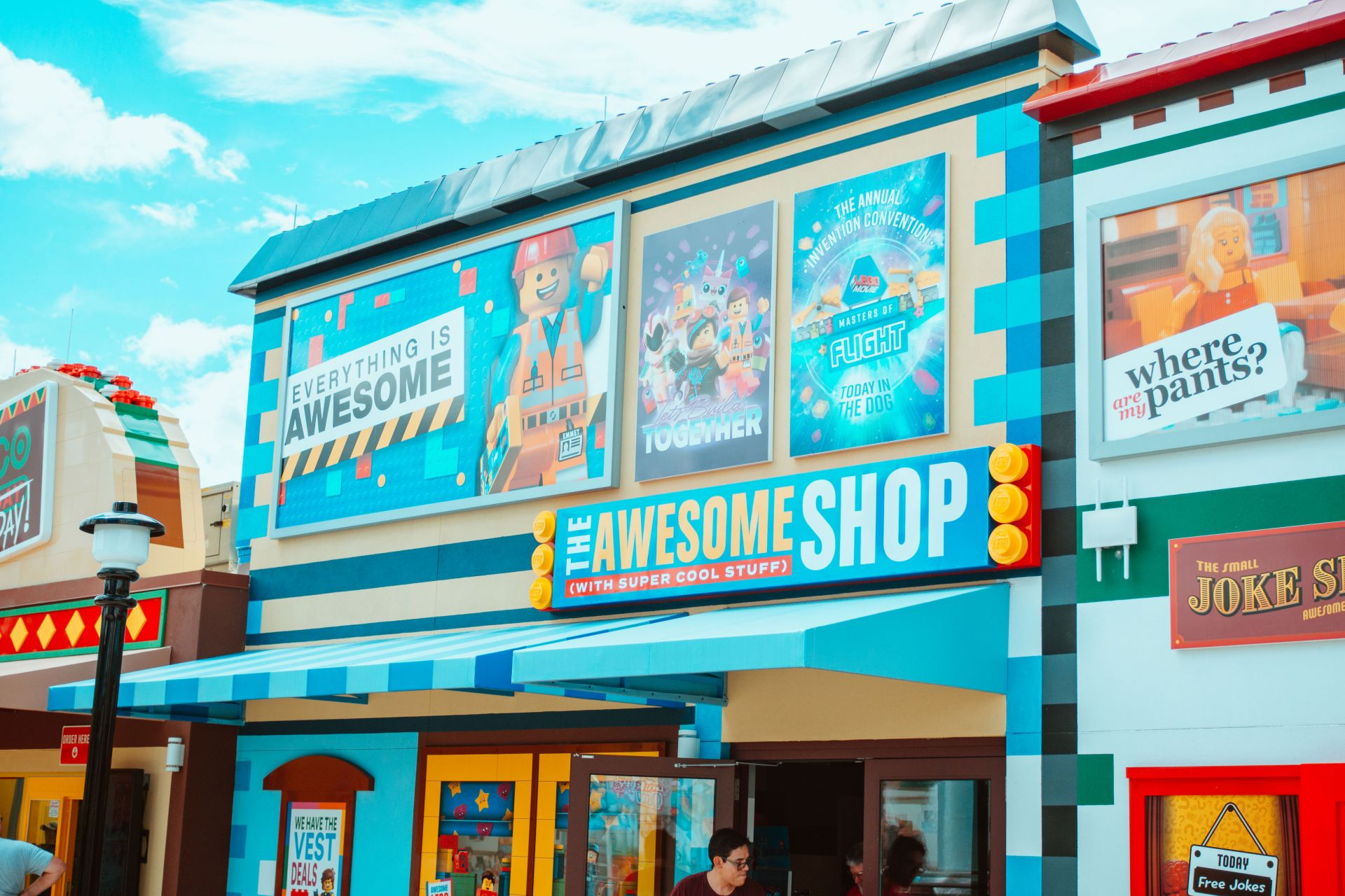 Awesome Shop in Legoland