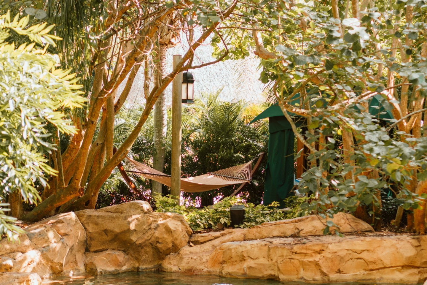Discovery Cove Private Cabana