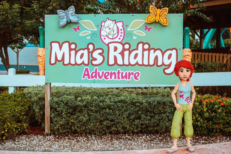 Mia's Riding Adventure Legoland