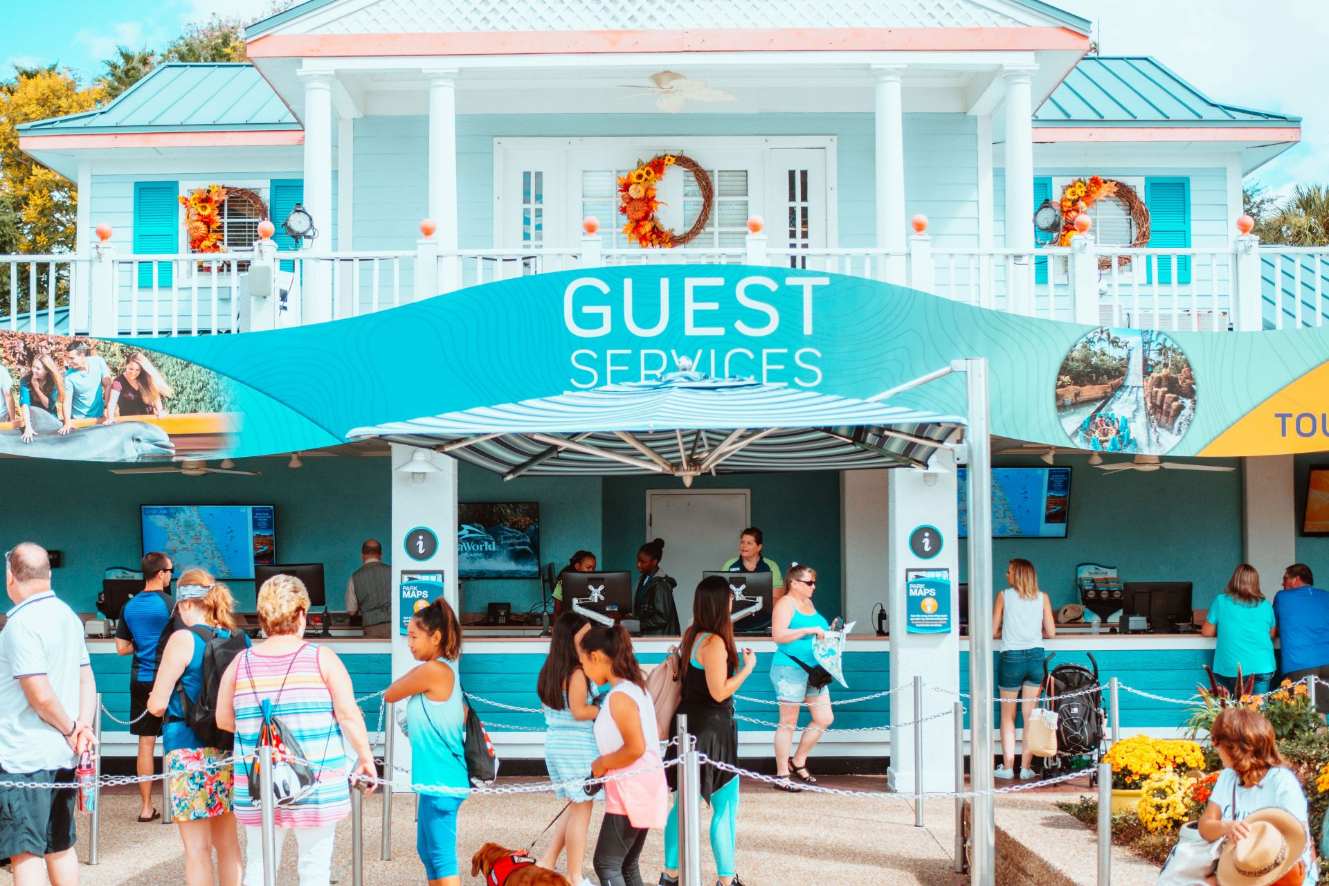SeaWorld Guest Services