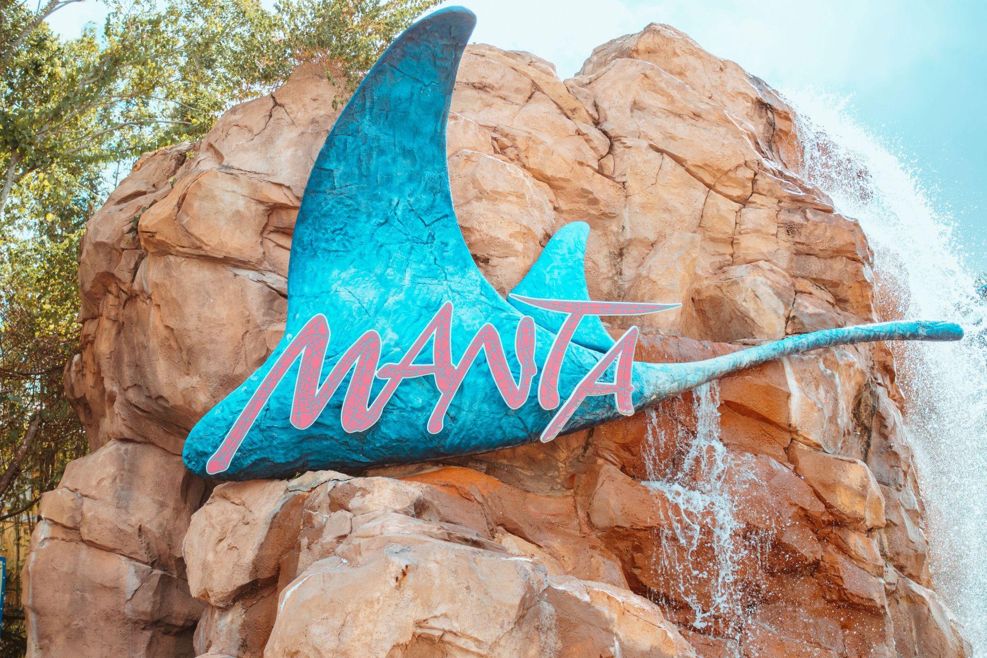 SeaWorld Manta
