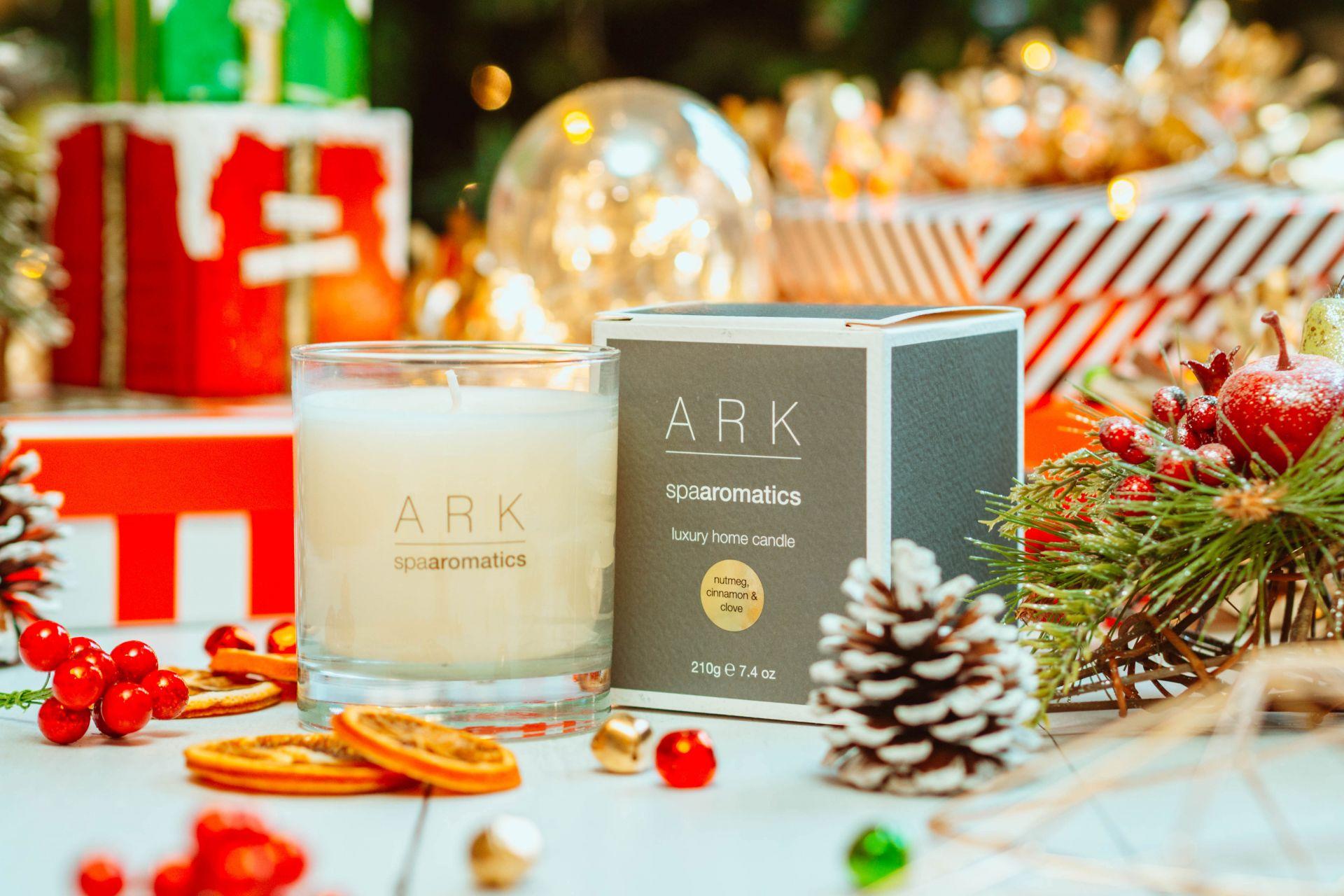ARK Nutmeg, Cinnamon & Clove Luxury Home Candle