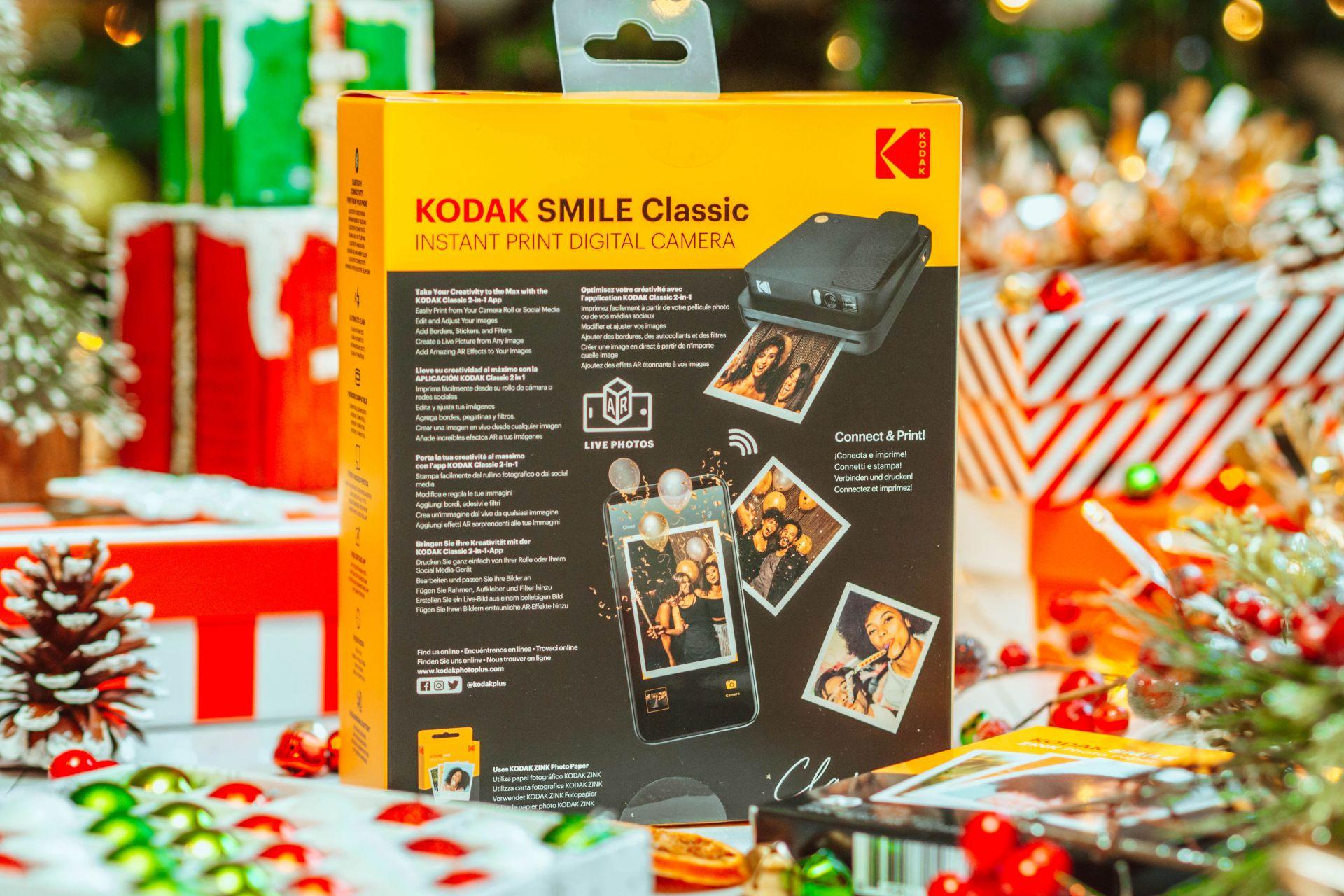 KODAK SMILE Classic Digital Instant Camera - Christmas Gifts for men