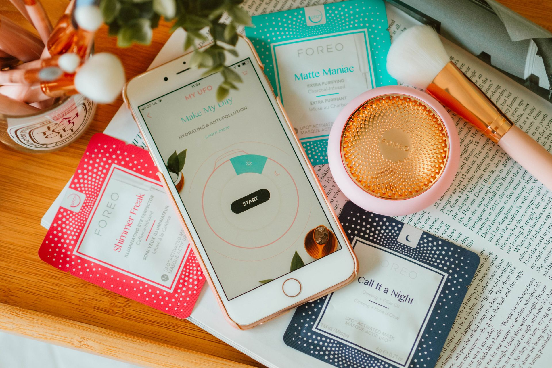 Foreo UFO Review