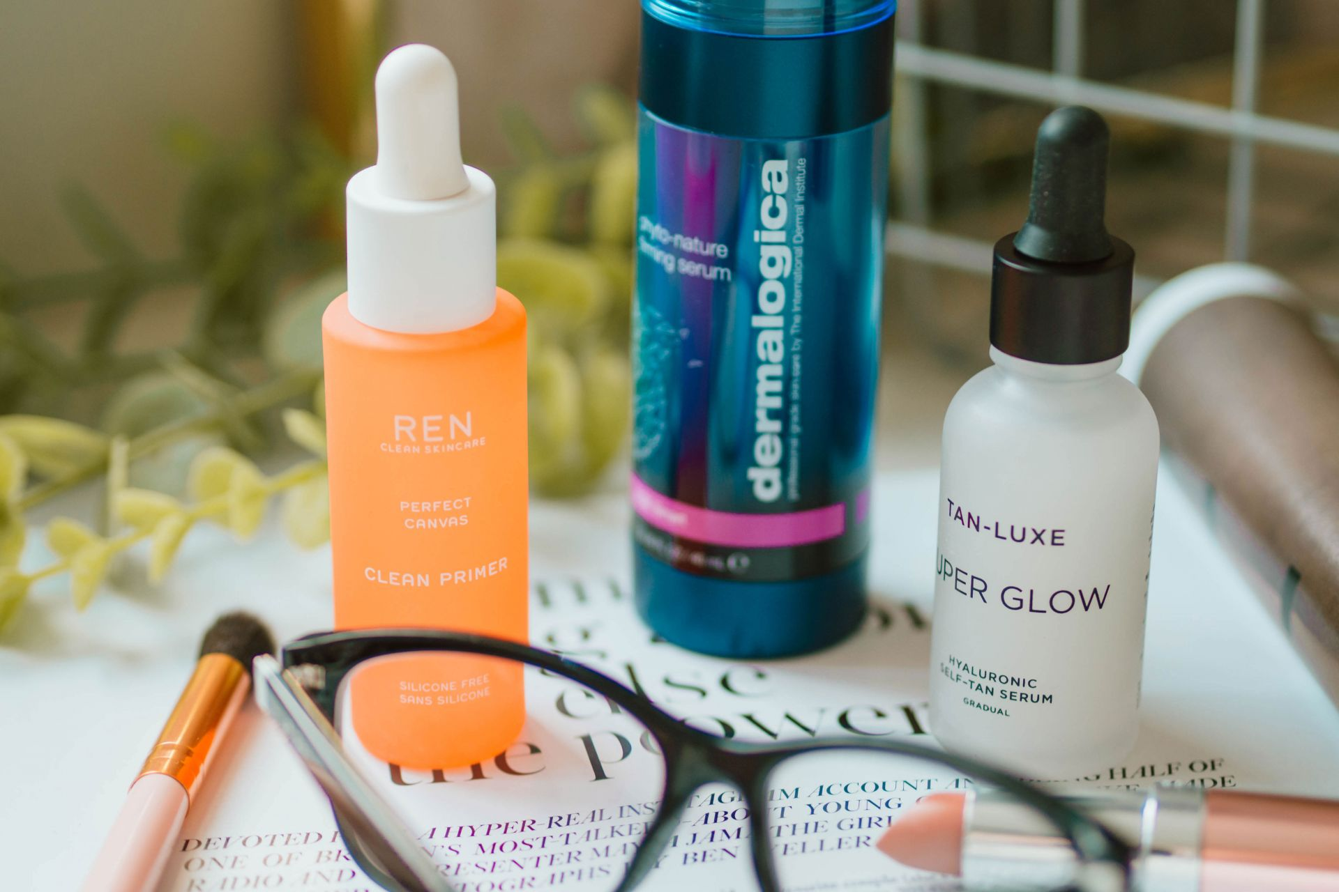 REN Perfect Canvas Clean Primer - winter serums review