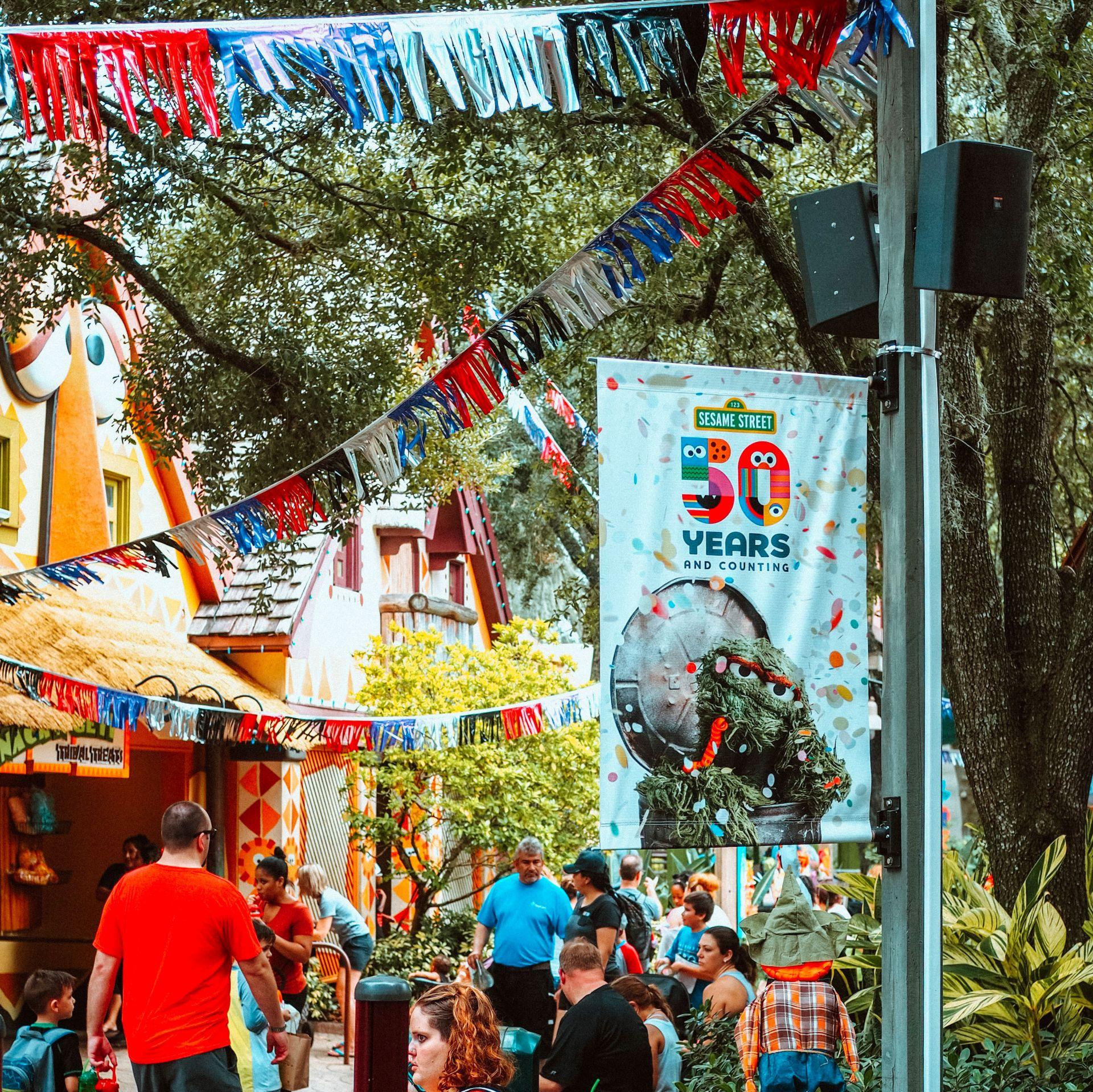 Sesame Street Busch Gardens