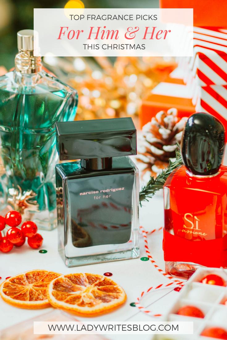 Top Fragrance for Christmas Picks