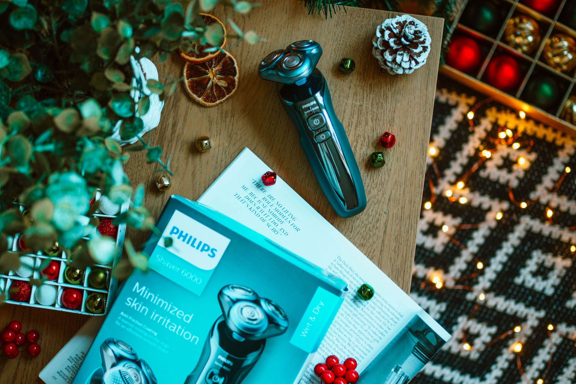 Christmas Electric Gifts For Him - Philips Series 6000 Shaver