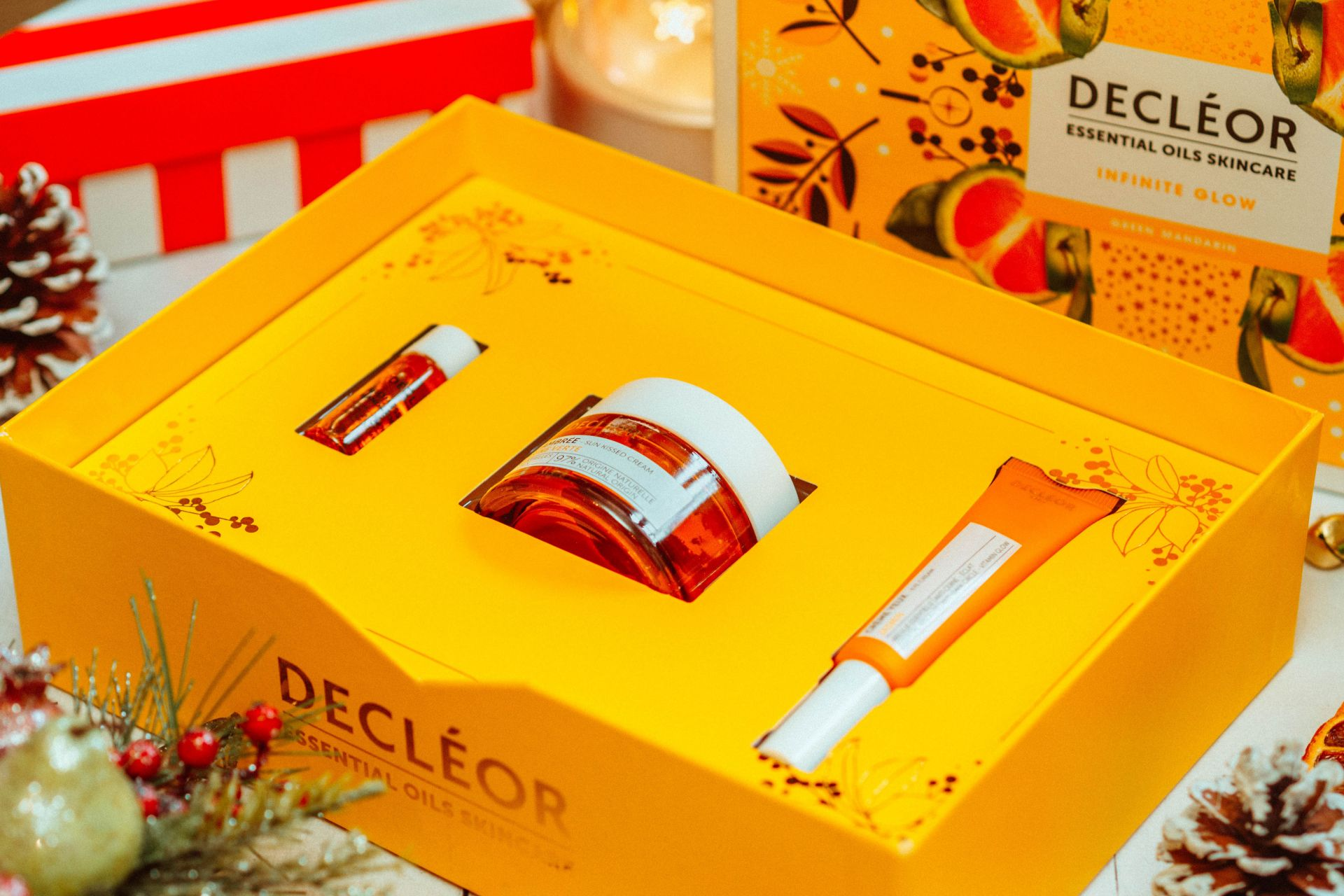 Decleor Infinite Glow Green Mandarin Set