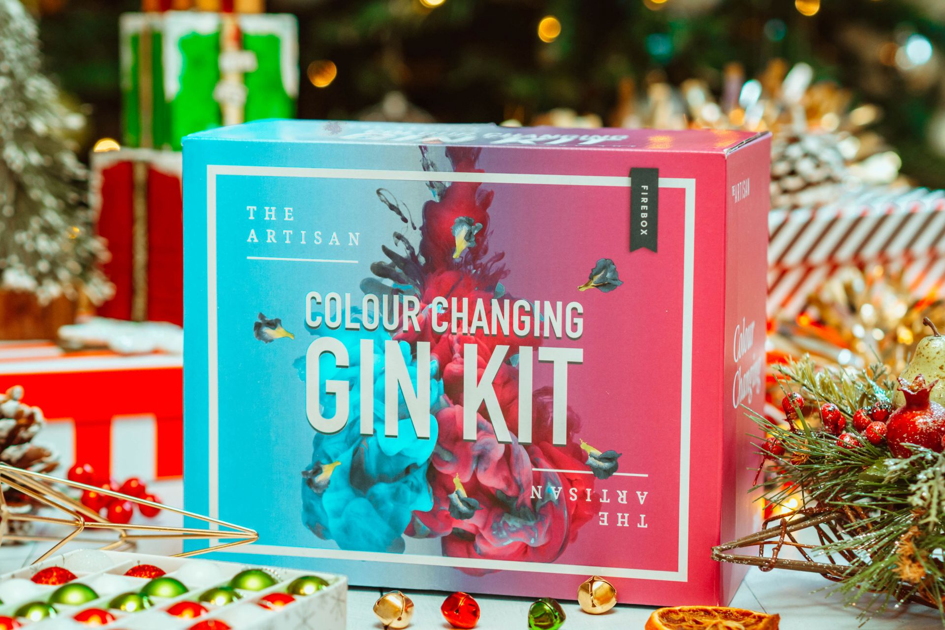 The Artisan Colour Changing Gin Kit - Gin gifts