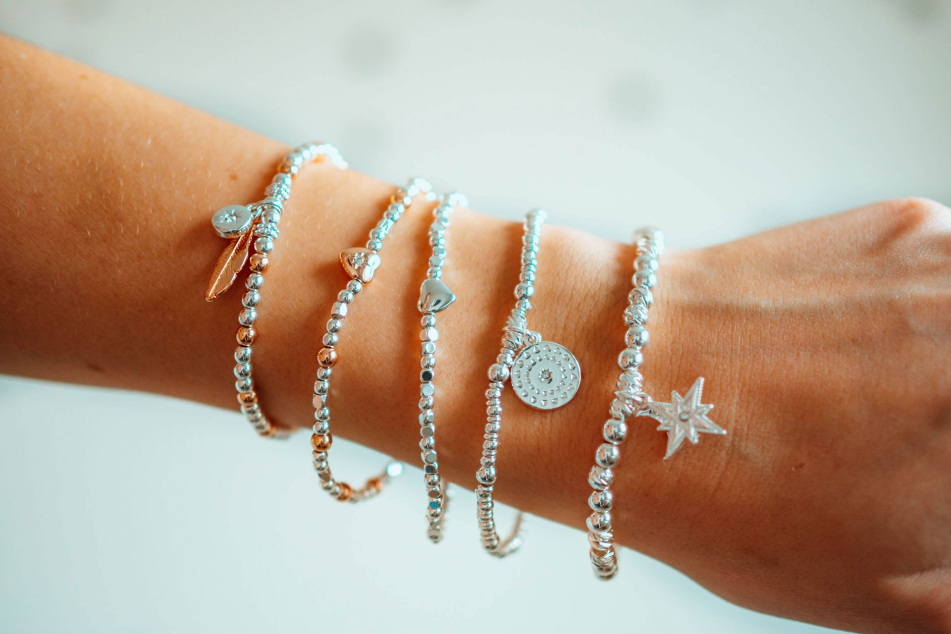 Wish Bracelets - stacking bracelet collection