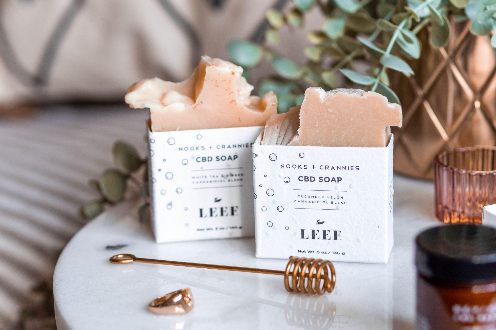 Leef Organics Nooks & Crannies Soaps