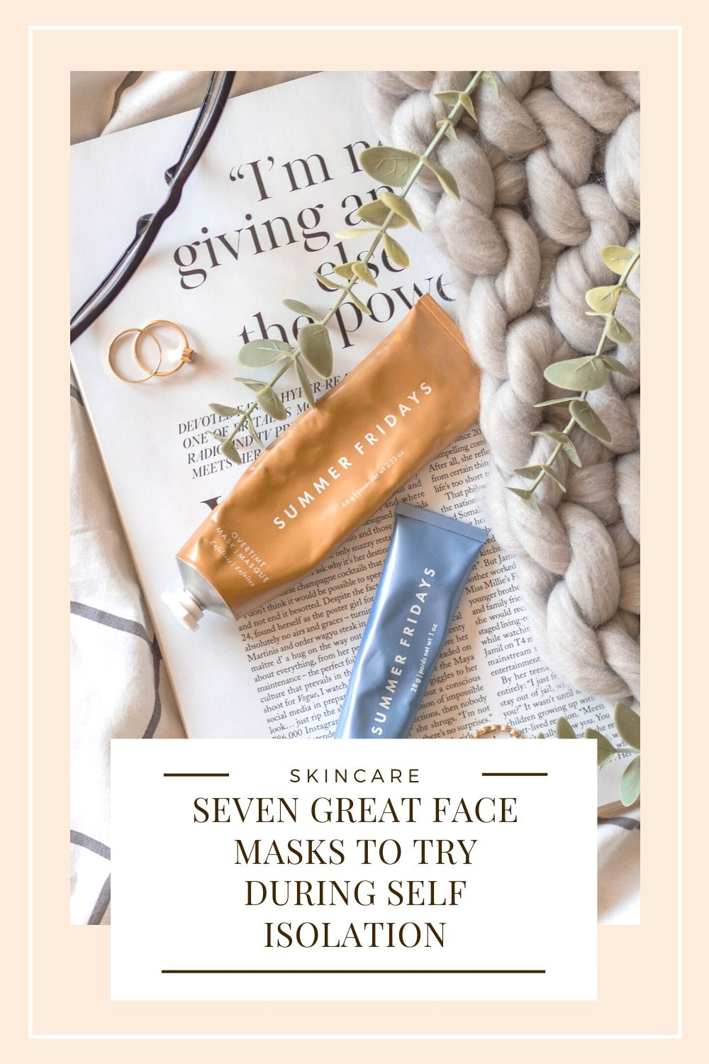 Great Face Masks To Try Right Now